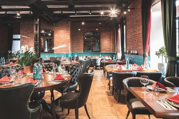 Ресторан Eleven Meathouse, интерьер