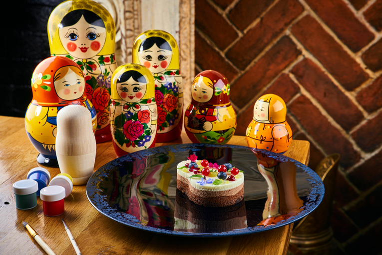 Новый «Московский обед» в ресторане «Матрёшка»