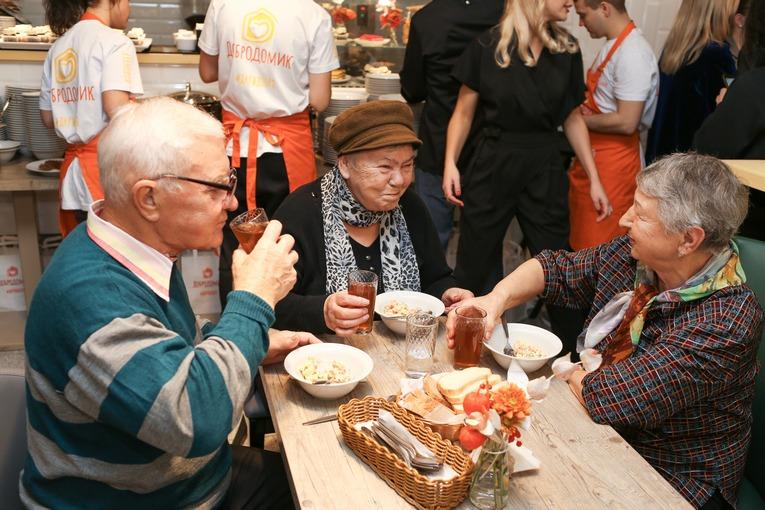 Открытие кафе «Добродомик» в Москве