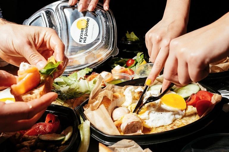 Сервис доставки еды от Рокетбанка