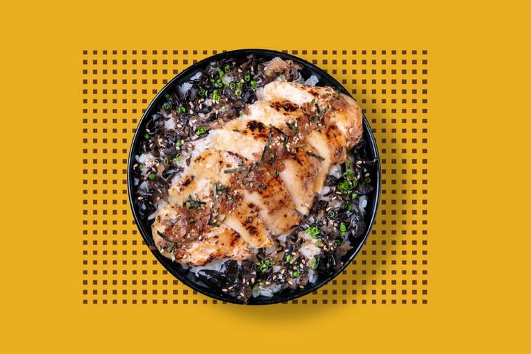 Rice-bowl Курица (450р.)