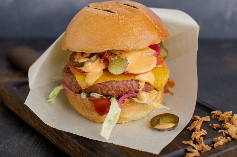 Еда будущего — бургеры из растительного мяса