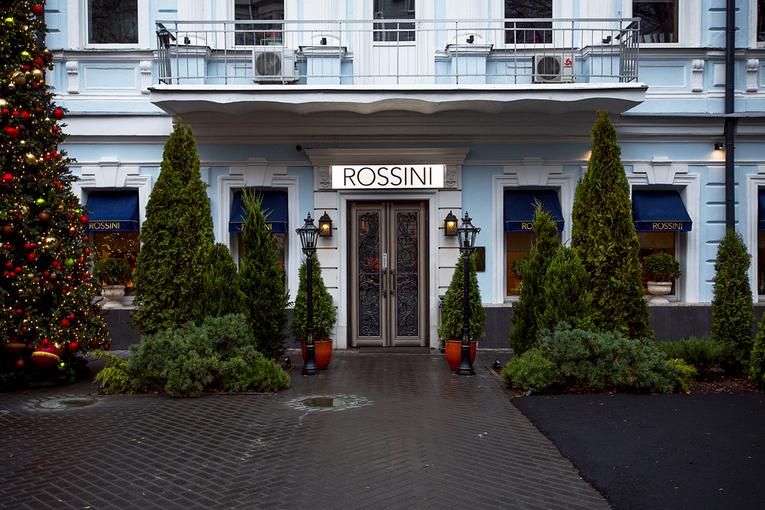 ресторан Rossini - современная интерпретация итальянской кухни