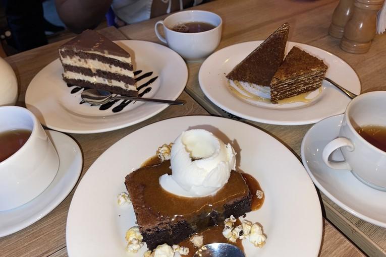 Nicepricecafe, десерты
