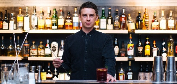 Максим Юркин - шеф-бармен ресторана 23Tolstoy