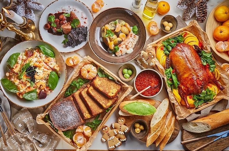 Праздничные блюда навынос от ресторана Little Garden Kitсhen & Bar