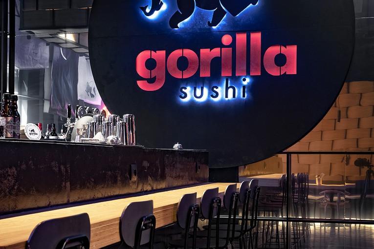 Gorilla Sushi - модная Япония в американской интерпретации в центре Москвы