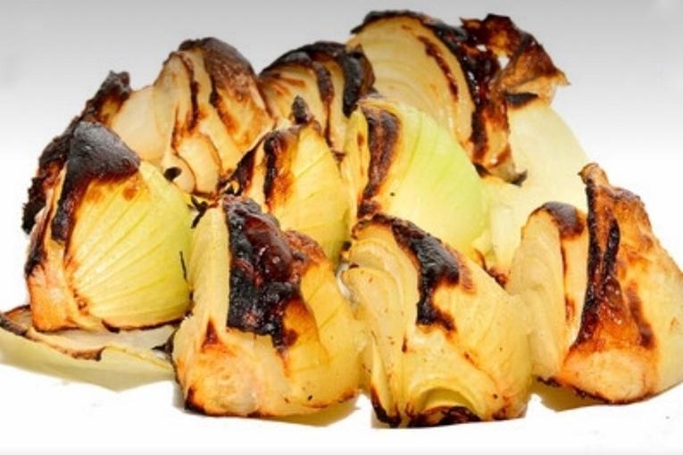 Шашлык из лука, ресторан «Иерусалим»