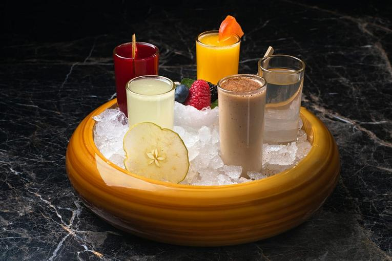 Эспрессо мартини (шоты по 200р.)
