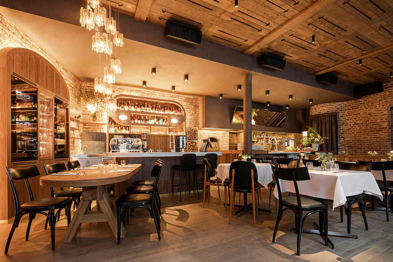 Ресторан LORO, интерьер