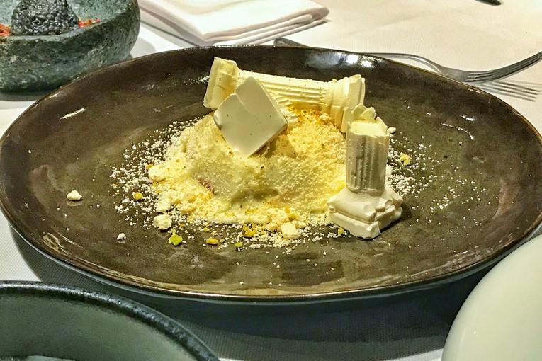 Десерт «Афинские развалины»
