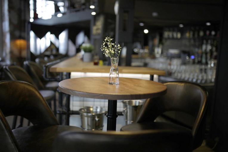Junk Food & Bar, интерьер