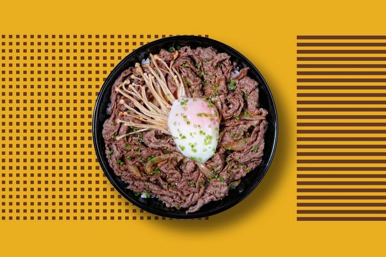 Rice bowl с говядиной (480р.)