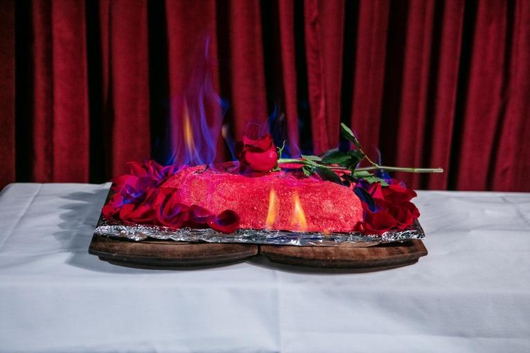 Огонь: красивое предложение на 14 февраля от ресторана Levantine.