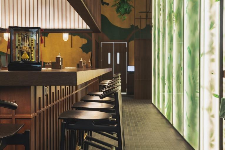 Ресторан «Бусидо», интерьер