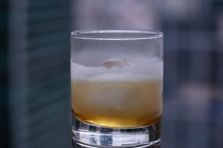 Коктейль Ice punch, бар AVIATOR