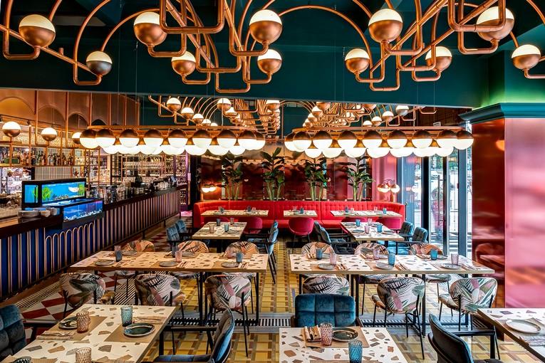 Ресторан «От И До», интерьер