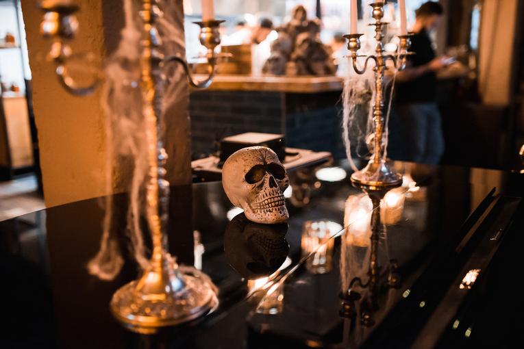 Halloween в кафе «Дружба. Мануфактура Еды»