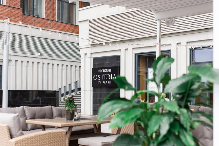 открылся ресторан средиземноморской кухни Osteria di Mare